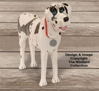 Layered Great Dane Pattern