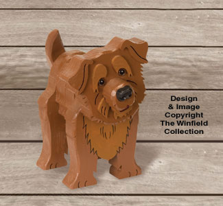 Layered Norfolk Terrier Pattern