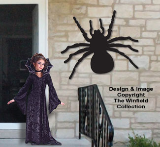 Giant Spooky Spider Pattern