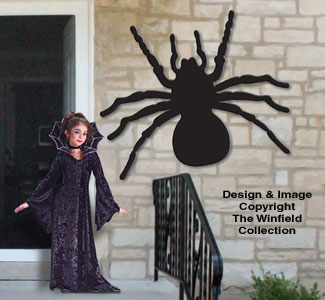Monster Spooky Spider Pattern
