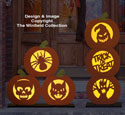 Carved Pumpkin Pattern Set