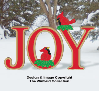 Cardinal JOY Woodcraft Pattern