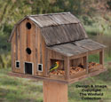 Rustic Barn Birdhouse #2 Wood Plan