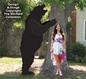 Giant Tree-Shaking Bear Pattern