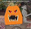 Evil Pumpkin Cargo Pattern