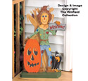 Welcome Scarecrow Woodcraft Pattern