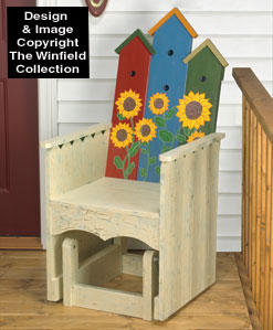 Birdhouse Glider  Woodworking Plan