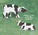 Two Calves Woodcraft Pattern