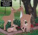 Deer Family Woodcraft Pattern