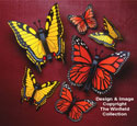 Giant Yard Butterflies Wood Pattern