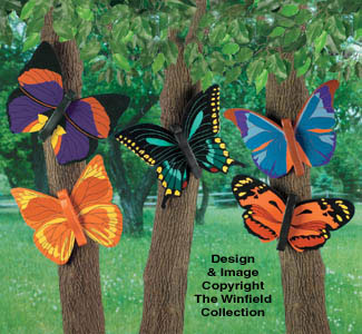 All Yard Amp Garden Projects Bright Butterflies 2 Wood