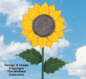 Large Yard Sunflower Woodcraft Pattern