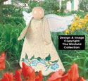 Garden Angel Woodcrafting Pattern