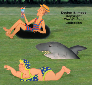 Yard Swimmers Pattern Set