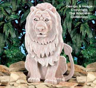 Guardian Lion Woodcraft Plan