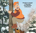 Treed Hunter Woodcraft Pattern