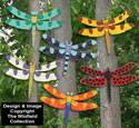 Giant Bright Dragonflies Pattern