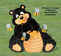Honey Bear Woodcrafting Pattern