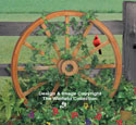 Wagon Wheel Woodworking Plan