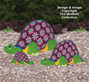 Garden Turtles Woodcraft Pattern