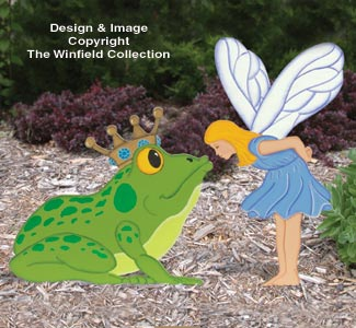 Fairy & Frog Prince Wood Pattern