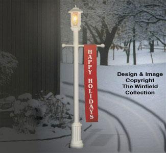 Seasonal Lamp Post Project Plan