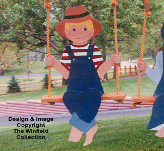 Swingin' Boy Woodcraft Pattern