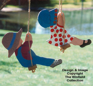 Swingin' Couple Woodcraft Pattern