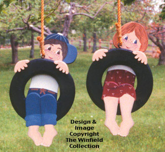 Tire Swingers Woodcraft Pattern