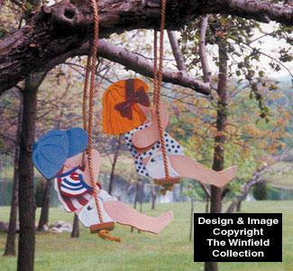 Swingin' Toddlers Woodcraft Pattern