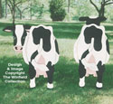 Yard Cow Pattern - Back View