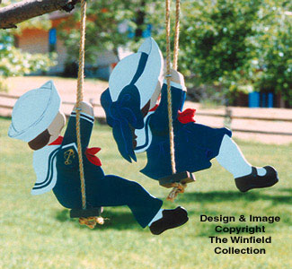 Swingin' Sailors Woodcraft Pattern