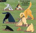 Diggin' Dogs Combo Pattern Set