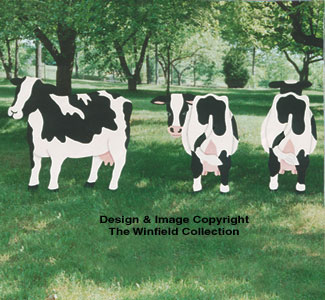 Yard Cow Pattern Collection