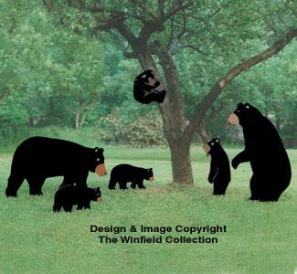 Yard Bear Pattern Collection
