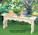 Victorian Bench Wood Project Plan