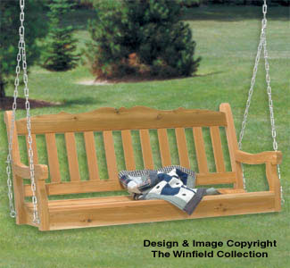 Porch Swing Wood Project Plan