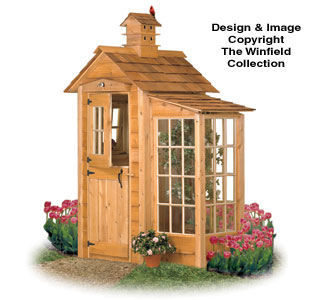 Garden Shed & Acents Woodworking Plans
