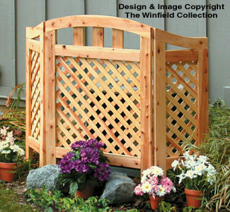 Decorative Screen Woodworking Plan