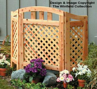 Decorative Screen Woodworking Plan