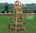 Garden Obelisk Woodworking Plan