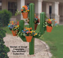 Landscape Timber Cactus Woodcraft Pattern