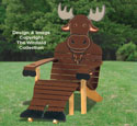 Moose Adirondack Chair Plans