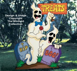 Playful Ghosts Pattern