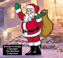 Waving Santa Pattern