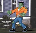 Giant Frankenstein Woodcraft Pattern