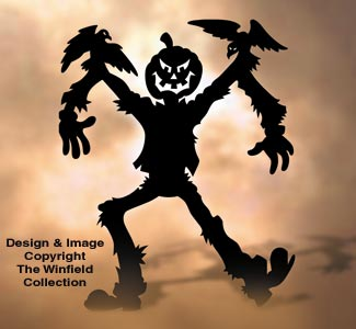 Jack O' Scarecrow Wood Pattern