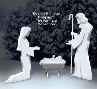 3D Nativity Pattern