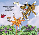 Furry Fun Whirligigs Pattern