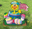 Hatch A Happy Easter Pattern